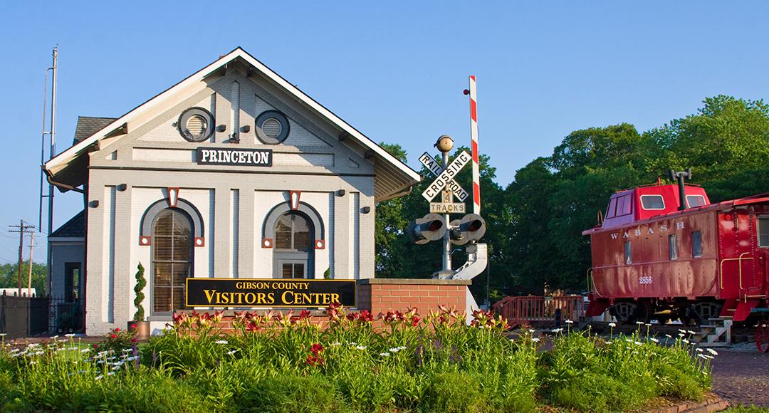 Princeton Train Depot/ Gibson County Visitors Center photo