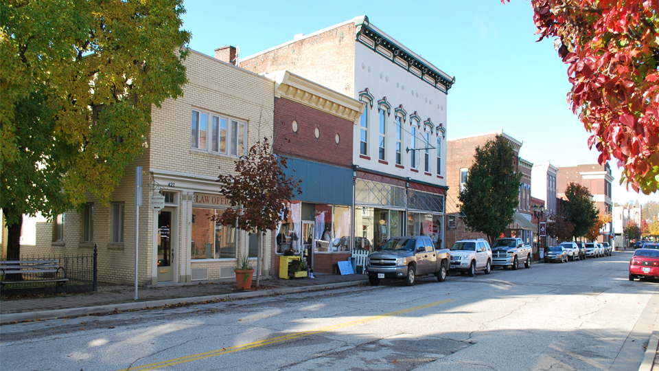 Huntingburg Historic 4th Street photo