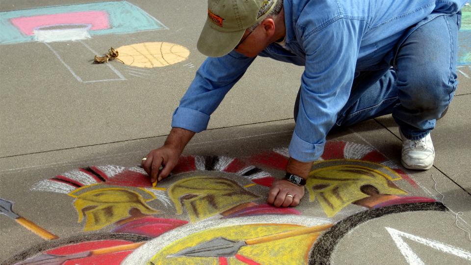 JCAC Chalk Walk Art Festival photo