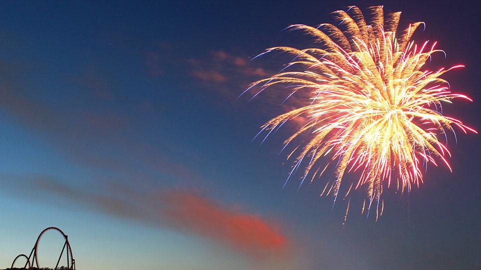 Fireworks at Holiday World & Splashin' Safari