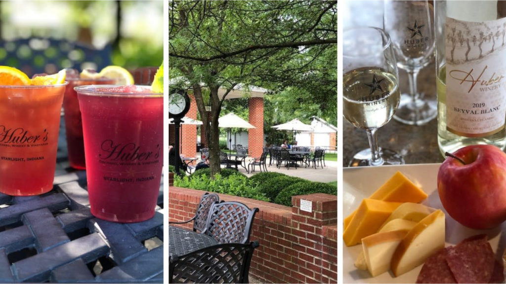 Live Music on the Patio at Huber's Orchard & Winery photo