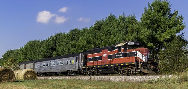 Lincoln Flyer Train Ride photo